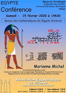 Association Egypto Gironde Affiche